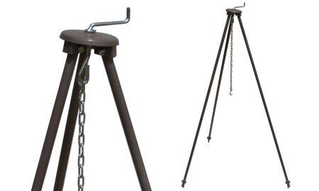 Stojalo teleskopsko za kotel – tronožec višina 130 cm