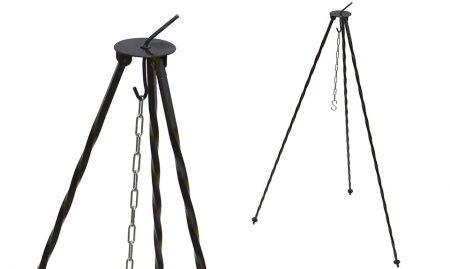 Stojalo za kotel – tronožec višina 120 cm okroglo
