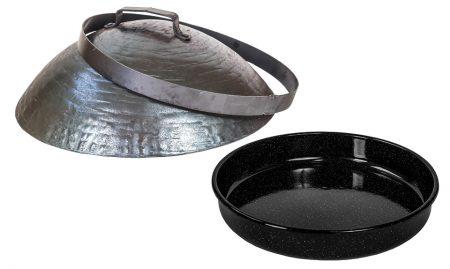 Podpeka komplet – Sač, pekač in obroč (FI 50 cm) ročno …