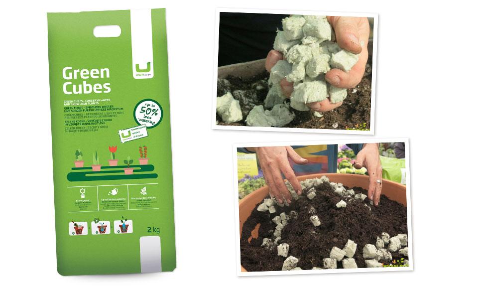 Zelene kocke, 2 kg (20 l)