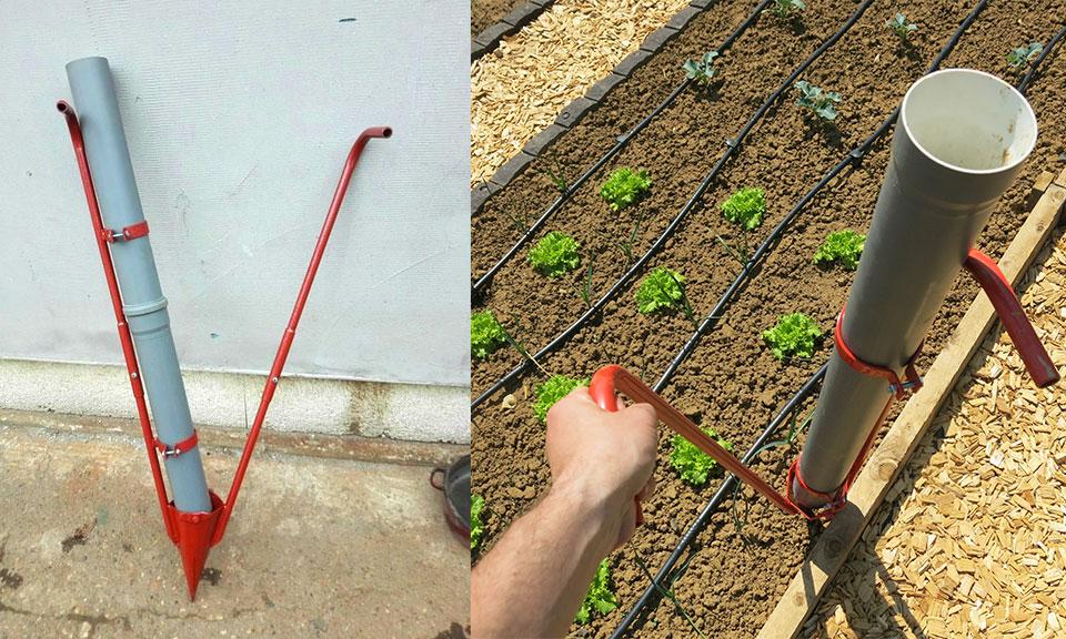 Ročni sadilec za sadike